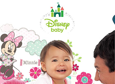 Disney baby products brochure design